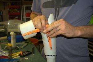 8 Fine Tuning the Roboarm mold3